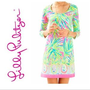 Lilly Pulitzer Beacon dress in tiki pink